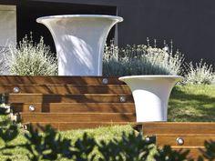 High polyethylene vase by Serralunga