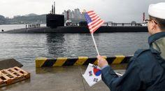 """ABD tarafından """"Ohio sınıfı"""" güdümlü balistik füze denizaltısı USS Michigan, Güney Kore'nin Busan Limanı'na gönderildi.ABD Donanması Kore Komutanlığından edinilen bilgiye göre, batı Pasifik bölgesinde rutin görevde bulunan nükleer kapasiteli denizaltı, 25 Nisan'da Busan Limanı'na ulaştı.   #Arnavutluk #Balkan #Balkan Haberler #Balkan Rehberim #balkanlar #Haber #Haberler #Makedonya"""