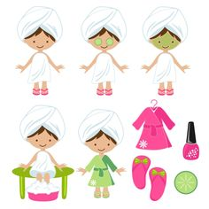 139 best clip art spa images printables bath time bath