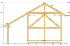 20x20 Timber Frame Plan in 2020 | Timber frame cabin, Pole ...