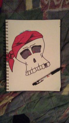 Pirate Skull 💀💎 Pirate Skull, Pirates, Deadpool, Superhero, Cover, Artwork, Fictional Characters, Work Of Art, Superheroes