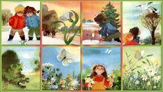 Wiosną- ilustracjeMałgorzata Wickenhagen Komorowska