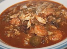 New Orleans Seafood Okra Gumbo New Orleans Seafood Gumbo - You'll want to make a huge pot of this, the first time I tasted it I felt cheated my whole life for not having it before it's that good and it freezes well so you can pull it out later and enjoy,, Okra Gumbo, Seafood Gumbo, Seafood Dishes, Seafood Platter, Slow Cooker Recipes, Crockpot Recipes, Soup Recipes, Cooking Recipes, Gumbo Recipes