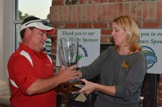 2014 Chamber Challenge  F-V wins 9-5, retains trophy F-V Board Chair Elect, Jonathan Holland Holly Springs Executive Director, LeeAnn Plumer