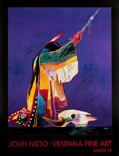 Painting by John Nieto Awesome artist ♥ Native American Paintings, Native American Images, Native American Artists, Native American Design, American Indian Art, American Indians, First Nations, Kunst Der Aborigines, Southwestern Art