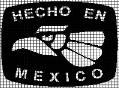 Hecho En Mexico (Chart/Graph AND Row-by-Row Written Instructions) - 01
