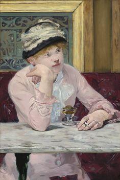 Édouard Manet, La Prune (La ciruela), óleo sobre tela, 73.3 x 50.2 cm, h. 1877.