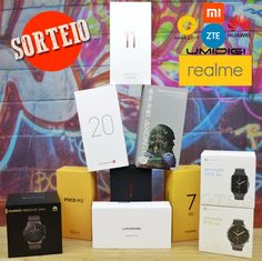 Mega Sorteio - 7 Smartphones e 3 Smartwatches Smart Watch, Smartphone, Telephone Number, Prize Draw, Smartwatch