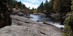 Canadian Shield (also know as Precambrian Shield or Laurentian Plateau covers about 1/2 of Canada)