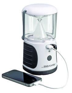Use Mr. Beams LED Lantern to charge you electronics. This is perfect for off grid living or just camping in general!