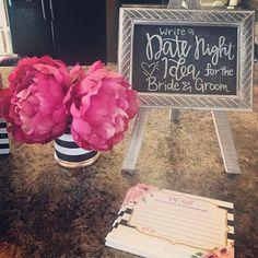 Kate spade bridal shower brunch pink 35 ideas for 2019 Bridal Shower Planning, Bridal Shower Tables, Wedding Shower Decorations, Bridal Shower Flowers, Unique Bridal Shower, Bridal Shower Tea, Bridal Shower Invitations, Baby Shower, Bride Shower