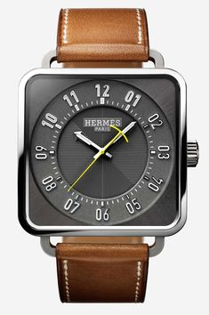 For 2018 Hermès updates the Carré H with a new case size as well as a new dial. Interested in the other updates? Check them out on aBlogtoWatch.com #SIHH2018.