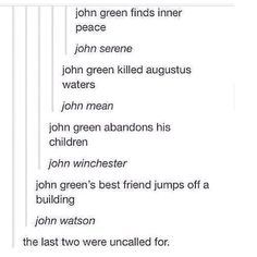 The many sides to John Green