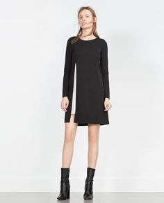 Image 1 of TWO-TONE DRESS from Zara
