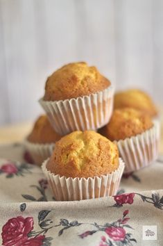 Cupcakes, Cupcake Cakes, Healthy Muffins, Carrot Muffins, Cinnamon Muffins, Lemon Muffins, Oatmeal Muffins, Breakfast Muffins, Pan Dulce