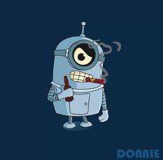 Futurama Bender Minion - Check out this Minion Parody collection