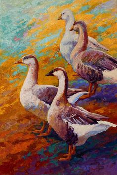 Trademark Fine Art 'Gaggle Of Canvas Art by Marion Rose, Size: 30 x Multi-color Rose Painting, Canvas Prints, Rose Art, Painting, Painting Prints, Art, Canvas Art, Trademark Art, Trademark Fine Art