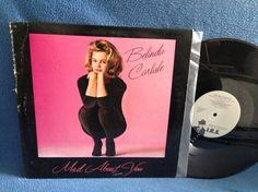 Vintage Belinda Carlisle  Mad About You Vinyl LP by sweetleafvinyl