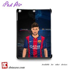 Neymar Barcelona Cartoonfor custom case iPad 2/iPad 3/iPad 4/iPad Mini 2/iPad Mini 3/iPad Mini 4/iPad Air1/iPad Air 2 Cases