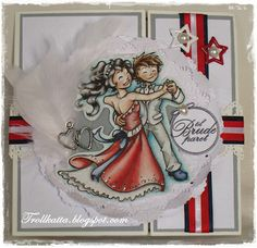 Whiff of Joy - Charlotte and Charly, wedding Card
