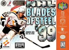 Today in gaming history  April 5, 1999 Konami released NHL Blades of Steel 99 on N64.  NHL Blades of Steel 99 is the follow-up to the original NES classic that helped shape the ice hockey genre for years to come. Yet while the original was at heart an arcade-style game, Konami has approached the sequel as a simulation.  NHL Blades of Steel 99 is split up into three modes: Exhibition, Season and Playoffs. All 27 NHL teams are presented and feature authentic 98-99 player rosters and an…