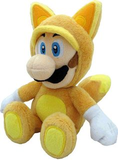 Luigi Kitsune Plush Super Mario - SAN-EI Tokyo Japan Small Plush Features: Officially Licensed High Quality Plush Limited Quantity and Highly Collectible Mak Super Mario Bros, Super Mario All Stars, Super Nintendo, Nintendo Room, Mario Und Luigi, Mario Bros., Mario Toys, Simpsons, Nintendo Characters
