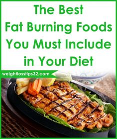 The Best Fat Burning Foods You Must Include in Your Diet. Despite the fact if you are looking to get some help to build your muscles getting your metabolism healthier and ability to burn fat or just to make yourself feel fuller even though you are consuming fewer calories this foods after many researches have proven to increase the rate of fat loss! #fatlossdiet Diet Motivation Pictures, Best Fat Burning Foods, Fat Loss Drinks, Diet Plan Menu, Food Plan, Fat Loss Diet, Fast Metabolism, Diet Snacks, Calories