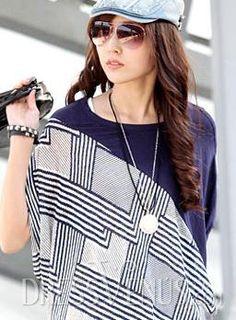 Beautiful Korean Style Loose T-shirt Clothing.