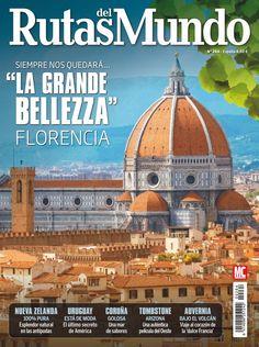 Revista #RutasdelMundo 264. #Florencia, la Grande Belleza. 100% #NuevaZelanda, #Uruguay, #Coruña, #Tombstone, #Auvernia...