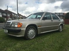 MERCEDES 190E COSWORTH 2.3 -16 1985 PRESS RELEASE CAR FIRST IN THE UK VARY RARE in Cars, Motorcycles & Vehicles, Classic Cars, Mercedes-Benz | eBay