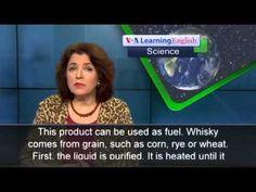 VOA Special English: Whisky Byproducts May Fuel Cars