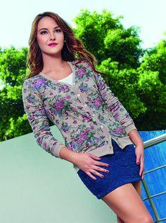 966-31 Sweater Dama Cklass