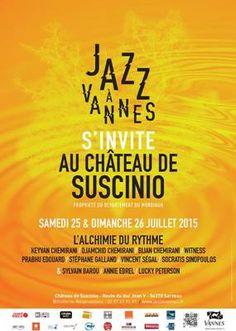 25 & 26 juillet Jazz à Vannes s'invite au château de Suscinio