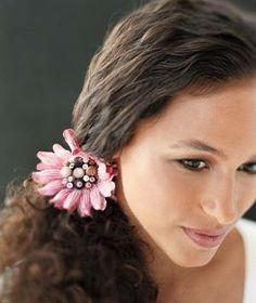 Short or long, straight or curly, there is a hair #accessory suited for every type of #hair. See this article from #RealSimple to find the best way to accessorize your hair.