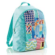 Hipster Prints backpack by Jordi Labanda for MIQUELRIUS