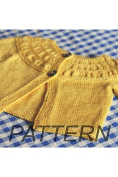 A feminine cardigan, knit from the top down. This pattern is meant to be a young girls version of the original tea leaves cardigan pattern, sized down to fit toddler to preteen girls. 400 - 800 yards