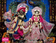 Radha Krishna Photo, Krishna Photos, Radhe Krishna, Hare Krishna Temple, Ahmedabad, Deities, Captain Hat, Fair Grounds, Altar