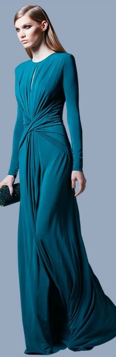 Elie Saab, Pre-Fall 2013. OMG freaking love everything about this dress!!