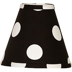 @Overstock - This adorable black and white polka dot lampshade coordinates with the Hottsie Dottsie nursery collection. This shade will help add the perfect touch to your little one's room.http://www.overstock.com/Baby/Cotton-Tale-Hottsie-Dottsie-Lamp-Shade/5971760/product.html?CID=214117 $20.99