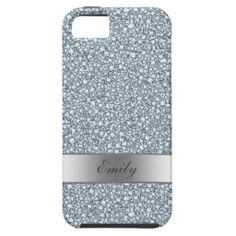 Encrusted Diamonds Look Glitter Patter iPhone 5/5S Case