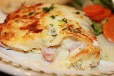Chicken Cordon Bleu Lasagna
