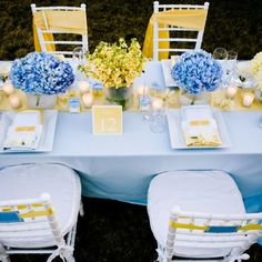 blue yellow wedding colors blue and yellow wedding palette color