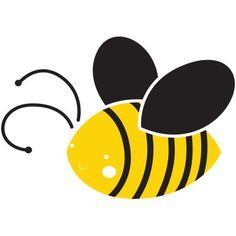 Bumble Bee Stencil for Onesie Decorating! (For Jenna & Tim to make)