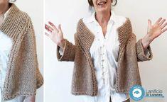 Love Crochet, Knit Crochet, Sewing Patterns Free, Knitting Patterns, Loom Knitting, Pulls, Knitwear, Fur Coat, Pullover