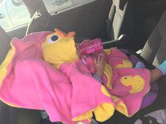Duck car seat poncho