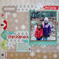 FiRst Christmas SnOw by Jenni Calma at Studio Calico