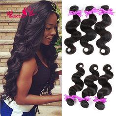 3 Pcs Brazilian Hair For Sale Cheveux Bresilien Natural Body Wave Hair Virgin Brazilian Wavy Hair Tissage Brazilian Body wave