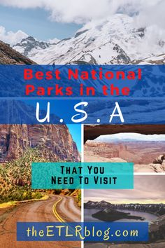 Best National Parks in the USA for Adventure Junkies and Nature Lovers  USA Travel Bucket List | #NationalParks | U.S.A Travel Suggestions | #Travel #USA #Nature #Adventure #usdestinations #us #destinations #us #destinations #travel Cool Places To Visit, Places To Travel, Travel Destinations, Travel Stuff, Usa Travel Guide, Travel Usa, Travel Tips, Globe Travel, Travel Abroad