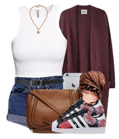 Sans titre #567 by jilwayne on Polyvore featuring polyvore fashion style Acne Studios H&M Dorothy Perkins Juicy Couture Forever 21 adidas clothing