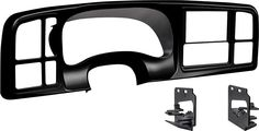 Metra - Dash Kit for Select 1999-2002 GM Full-Size Trucks and SUV's - Black